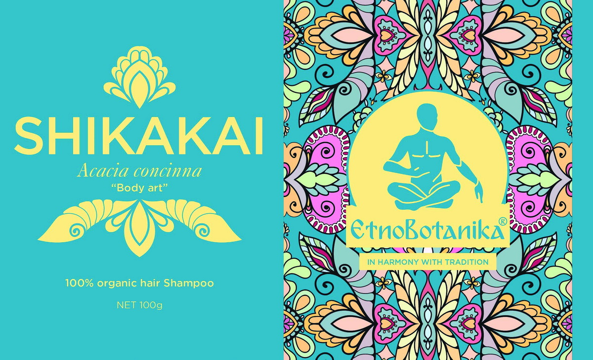 Ekološki izdelki za barvanje las shikakai